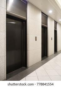 Office building elevator