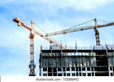 office building Under  construction