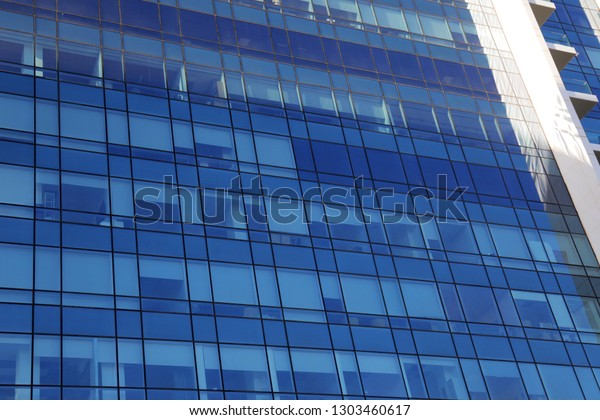 Office Buildings Blue Sky | Royalty-Free Stock Image