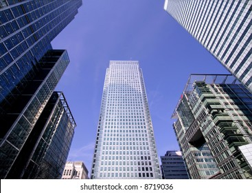 Office Buildings in Canary Wharf