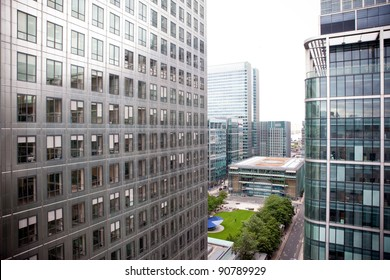 Office Buildings in Canary Wharf, London