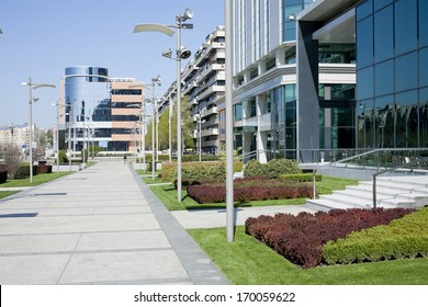 Office buildings exterior