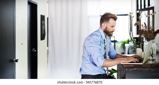 Office Business Analysis Working Workplace Workroom Concept