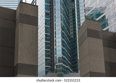 Office business high buildings