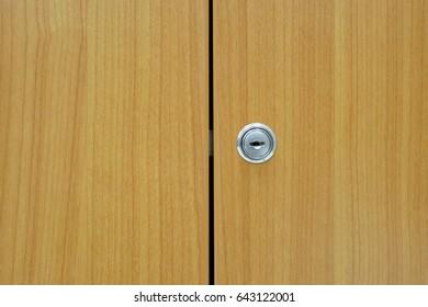 Office cabinet lock