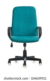 Office chair isolated on the white background