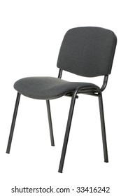 Office chair. A subject of furniture isolated on a white background