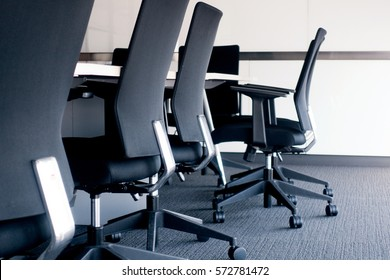 office chairs in meeting room