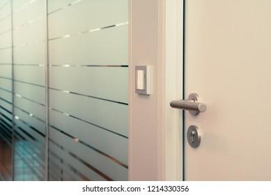 office door to conference room