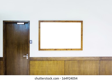 office door in the corridor