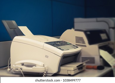 Office equipment Essential Basics For business today, put on the table, such as fax, Laser printer, Dot-matrix Printer, Inkjet -Printer, Paper and communication system