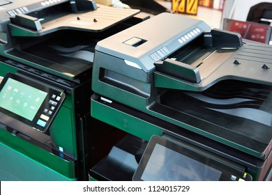 Office equipment printers and copiers