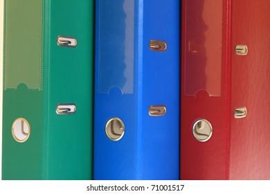 office folders binder background