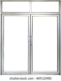 office glass door and window with copy space into office room