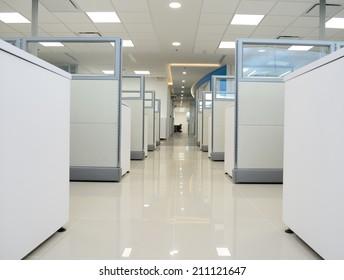 Office hallway.