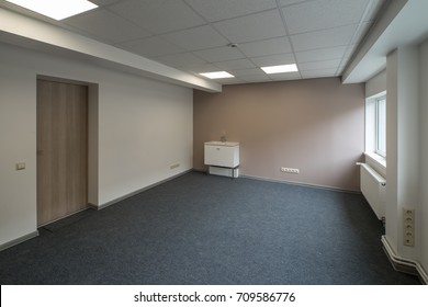 Office interior. Empty room.