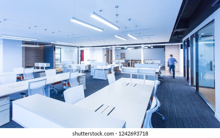 Office interior of a large company