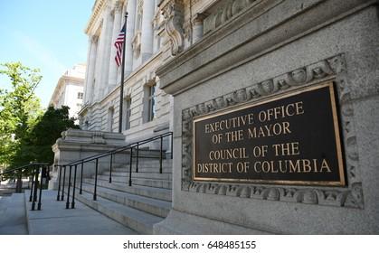 Office of the mayor of Washington, D.C., United States, May 9, 2017.