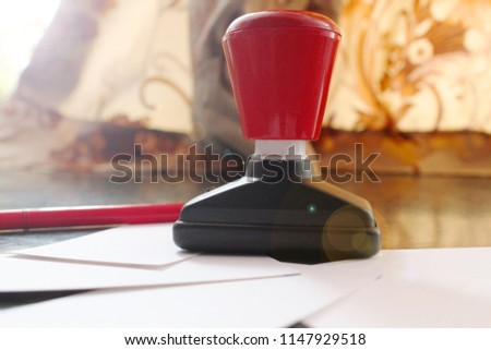office paper document stamp business cards stock photo edit now