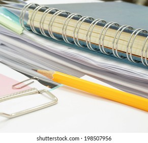 Office, the paperwork is important both reports financial, costs and results of operations.