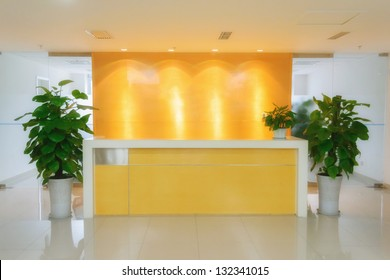 office reception