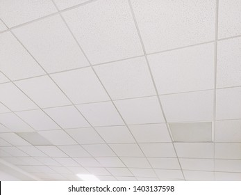 Office room False ceiling with light