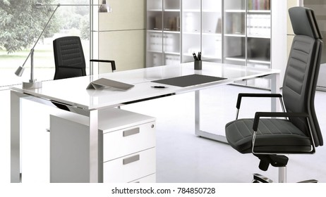 office room where you work