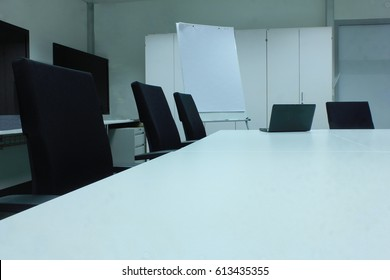 Office Space with chairs and board