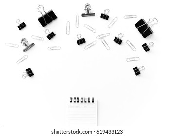 office supplies , copy space for idea concept