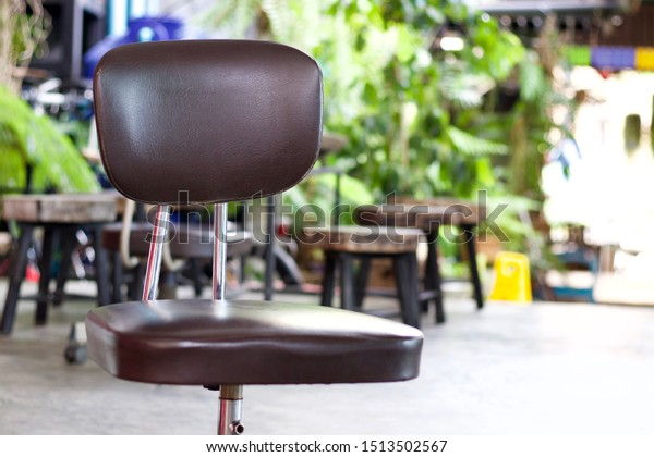 Remarkable Office Swivel Chair On Wheels Coffee Stock Photo Edit Now Gmtry Best Dining Table And Chair Ideas Images Gmtryco