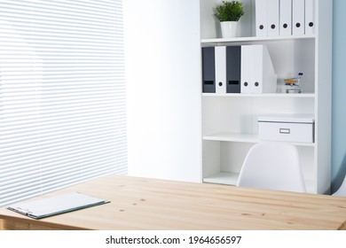 Office workplace. Work, business and minimalism concept.