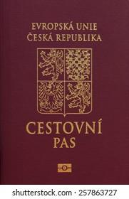 Official Czech passport