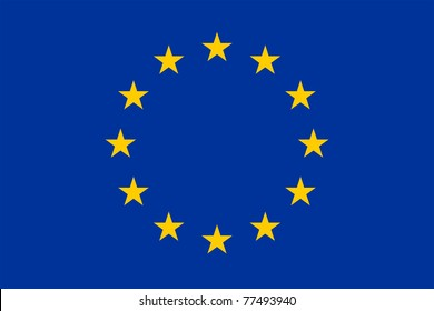 The official european union flag