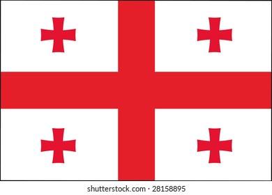 official flag of georgia