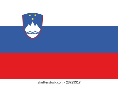 official flag of slovenia