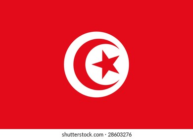 official flag of tunisia