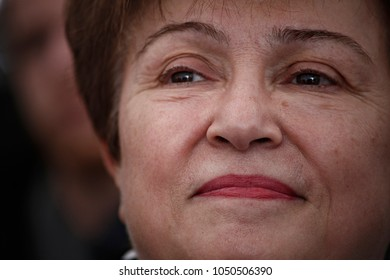 Official launch of the European Solidarity Corps by European Commissioner for International Cooperation, Humanitarian Aid and Crisis Response Kristalina Georgieva in Brussels, Belgium on Dec. 7, 2016