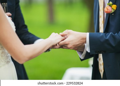 Official part wedding