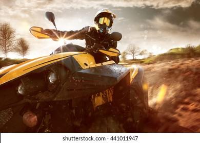 Offroad ATV Drive