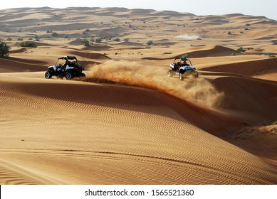 Offroad buggy desert safari race trip in Dubai, UAE