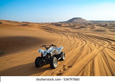 Offroad desert safari in Dubai. (dune bashing).