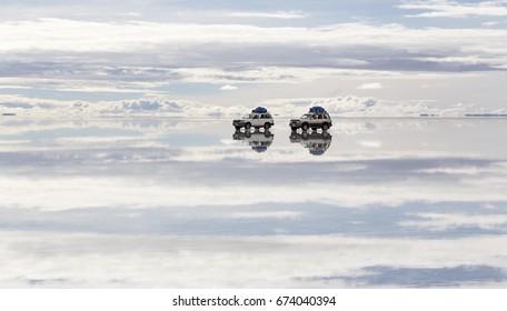 Offroad at Salt Lake Uyuni (bolivia)