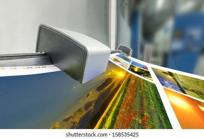 offset machine press print run at table, fountain key color management spectrophotometar control unit