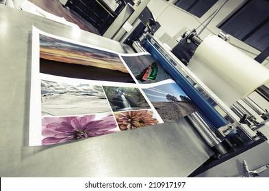 offset machine roll laminator, VINTAGE