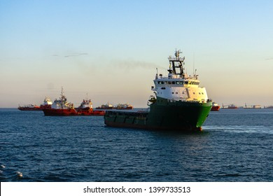 Offshore Oil and Gas support vessels in Labuan island,Malaysia.All the vessels port in Labuan island,most related to the offshore Oil & Gas industry.