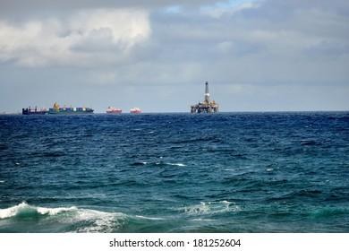 Offshore Oil Platform, Las Palmas de Gran Canaria, Spain