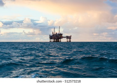 An offshore production platform