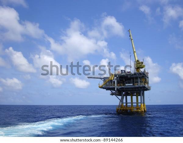 Offshore Production Platform For Petroleum Development