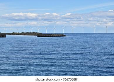 offshore wind farm in Baltic Sea