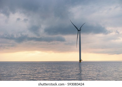 Offshore Windmill farm Westermeerwind d March 2017
